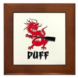 Dragon boat Framed Tiles