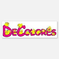 DeColores! Bumper Bumper Bumper Sticker