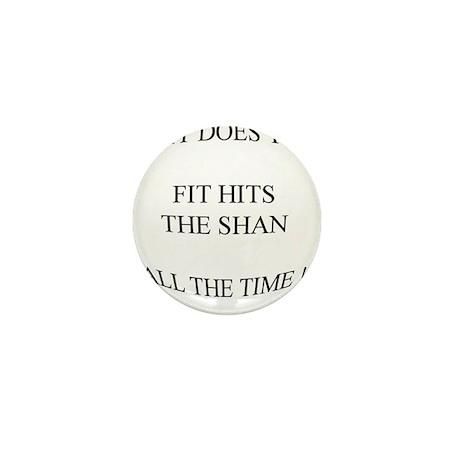Shit hits the fan... Mini Button (100 pack)