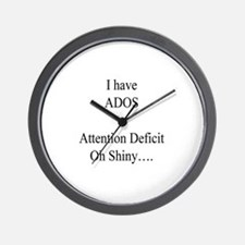 Attention Deficit Disorder #1 Wall Clock