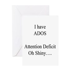 Attention Deficit Disorder #1 Greeting Card