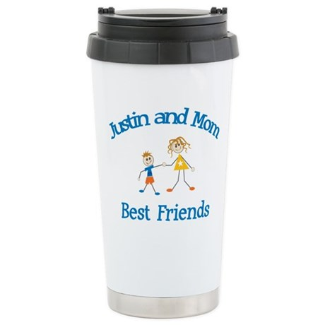 Justin & Mom - Best Friends Stainless Steel Travel