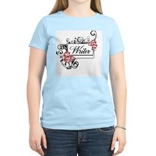 Writer Hibiscus T-Shirt
