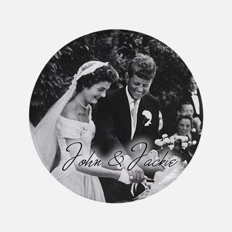 """Kennedy - 3.5"""" Button"""
