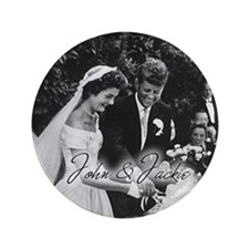 """Kennedy - 3.5"""" Button (100 pack)"""