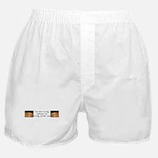 I'm Not Living.. Christian It Boxer Shorts