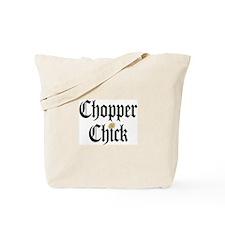 Chopper Chick Tote Bag