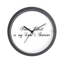 Jesus Christ Is My Lord 2.. I Wall Clock