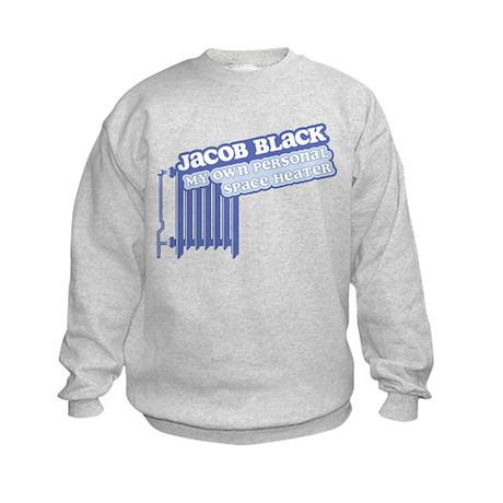 Jacob Space Heater Kids Sweatshirt