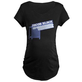 Jacob Space Heater Maternity Dark T-Shirt