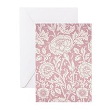 Pink and Rose 1890 Greeting Cards (Pk of 10)