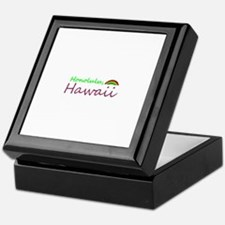 Hawaii Souvenior Keepsake Box