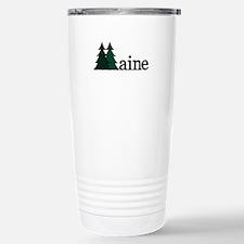 Maine Pine Tree Travel Mug