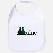 Maine Pine Tree Bib