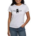 Tribal Pit Bull (Natural Ears) Women's T-Shirt