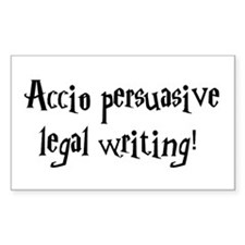 Accio persuasive legal writing! Decal