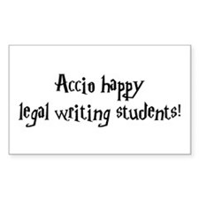 Accio happy legal writing students! Decal