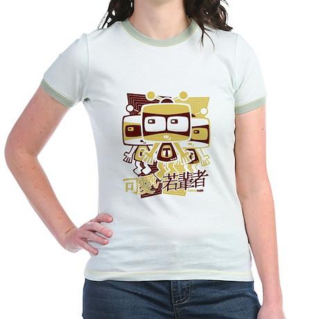 TV Mascot Jr. Ringer T-Shirt