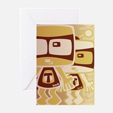 TV Mascot HT Greeting Cards (10 Pack)