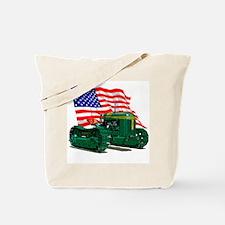 Cute Tractor pulls Tote Bag
