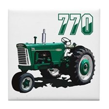 Cool Oliver tractor Tile Coaster