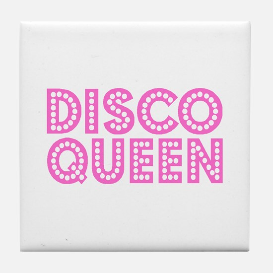 DISCO QUEEN Tile Coaster