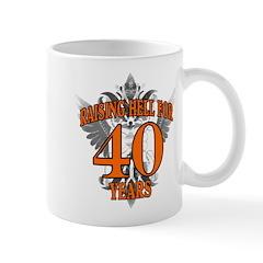 RAISING HELL 40 Mug