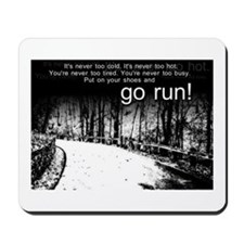 Go Run Mousepad
