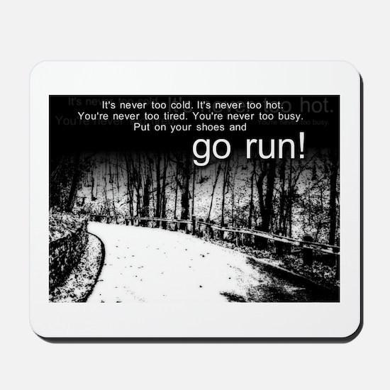 Go Run Mousepad