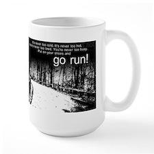 Go Run Ceramic Mugs