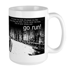 Go Run Coffee Mug