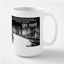 Go Run Large Mug