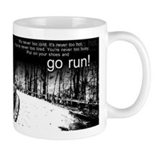 Go Run Small Mug