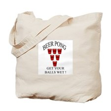 Beer Pong Tote Bag