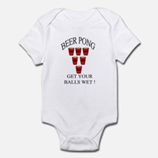 Beer Pong Infant Bodysuit