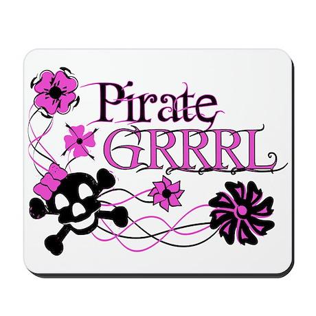 Pirate Grrrl Mousepad