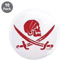 "Pirate Day 3.5"" Button (10 pack)"