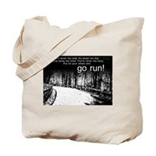 Go Run Tote Bag