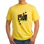 Let the Moose Live Yellow T-Shirt