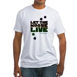 Let the Moose Live Fitted T-Shirt