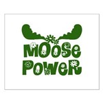 Moose Power Small Poster