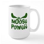 Moose Power Large Mug