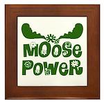 Moose Power Framed Tile
