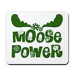 Moose Power Mousepad