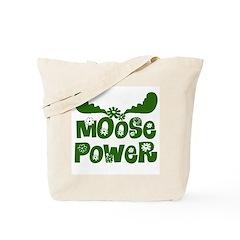 Moose Power Tote Bag
