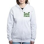 Moose Power Women's Zip Hoodie