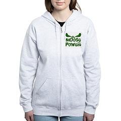 Moose Power Zip Hoodie