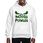 Moose Power Hooded Sweatshirt