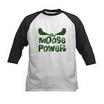 Moose Power Kids Baseball Jersey