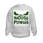 Moose Power Kids Sweatshirt